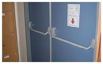 ZK plechové dveře a mříže